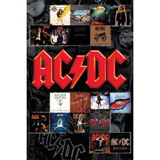 plagát AC/DC - Covers - GB posters, GB posters, AC-DC