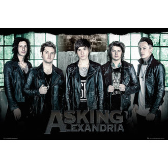 plagát Asking Alexandria - Window - GB posters, GB posters, Asking Alexandria