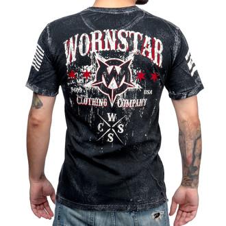 tričko pánske WORNSTAR - Death Mechanic - Grey