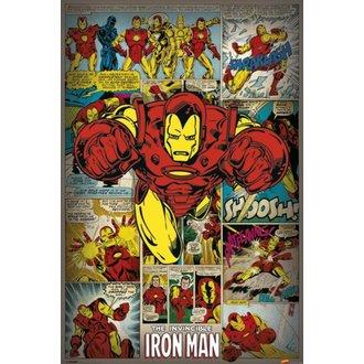 plagát Marvel Comics - Iron Man Retro - PYRAMID POSTERS, PYRAMID POSTERS