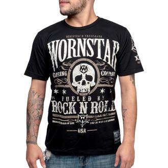 tričko pánske WORNSTAR - Elixir - Black, WORNSTAR
