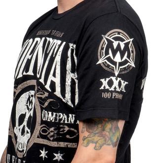 tričko pánske WORNSTAR - Elixir - Black
