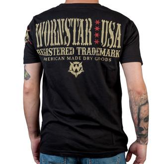tričko pánske WORNSTAR - Halo - Black, WORNSTAR