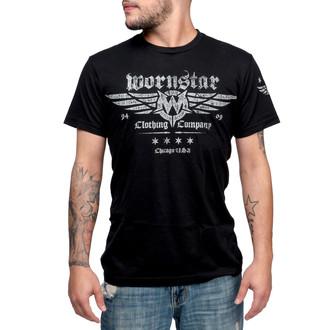 tričko pánske WORNSTAR - Machine Shop - Black, WORNSTAR
