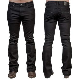 nohavice pánske (jeans) WORNSTAR - Hellraiser - Black, WORNSTAR