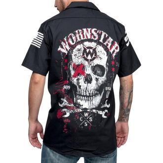 košele pánska WORNSTAR - Death Mechanic - Black, WORNSTAR