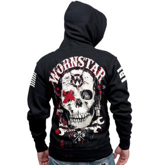 mikina pánska WORNSTAR - Death Mechanic - Black, WORNSTAR