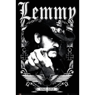 plagát Lemmy - Dates - GB posters, GB posters, Motörhead