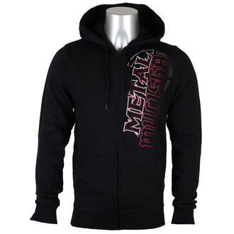 MIKINA METAL MULISHA PATH ZIP UP BLK-M