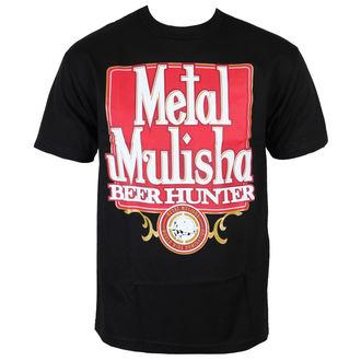 TRIČKO METAL MULISHA BEER HUNTER BLK-M, METAL MULISHA