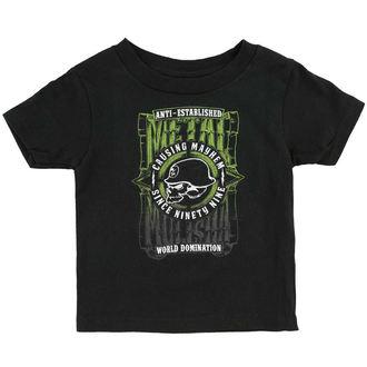 tričko detské METAL MULISHA - WEST, METAL MULISHA
