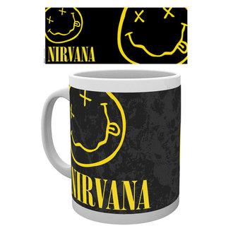 hrnček Nirvana - Smiley - GB posters, GB posters, Nirvana