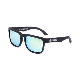 okuliare slnečné MEATFLY - Východ slnka - G- Black/Grey, MEATFLY