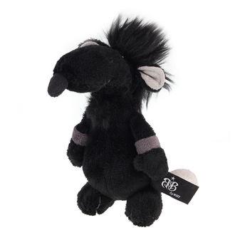 plyšová hračka ROCK STAR BABY - Rat - Black