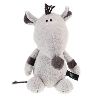 plyšová hračka ROCK STAR BABY - Rat - Grey, ROCK STAR BABY