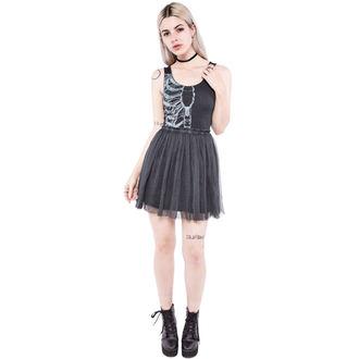 šaty dámske IRON FIST - Wishbone - Black, IRON FIST