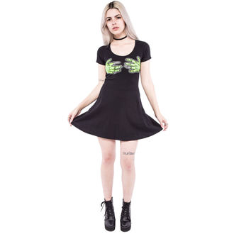 šaty dámske IRON FIST - Second Base - Black, IRON FIST