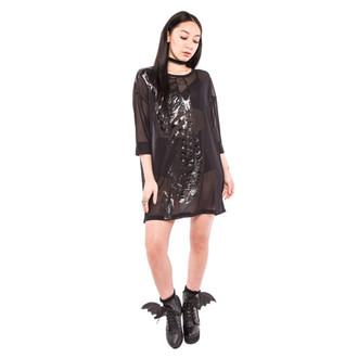 šaty dámske IRON FIST - Wishbone Mesh - Cover Up - Black