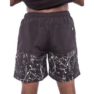 plavky pánske (kraťasy) IRON FIST - Extracurricular - Black/White, IRON FIST