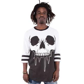 tričko pánske s 3/4 rukávom IRON FIST - Face Melter - Graphic - Black/White, IRON FIST