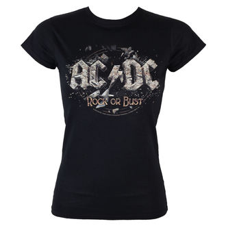 tričko dámske AC/DC - Rock Or Bust - LOW FREQUENCY - ACGS05003