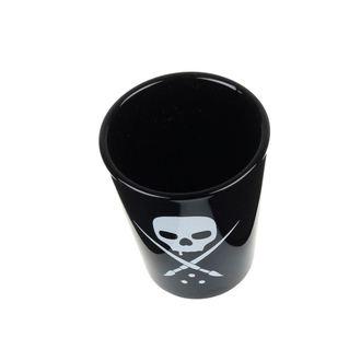 panáky SULLEN (set) - Black - Skull - 204898