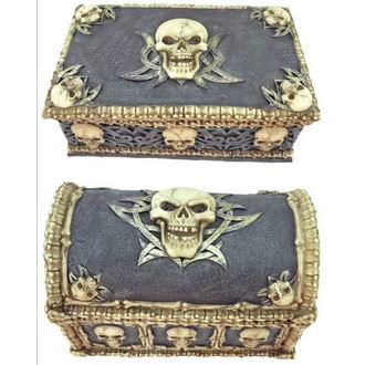 dekorácia (set krabičiek) Skull