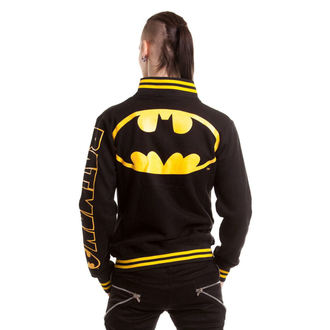 bunda pánska POIZEN INDUSTRIES - Batmanteam Varcity - Black, POIZEN INDUSTRIES
