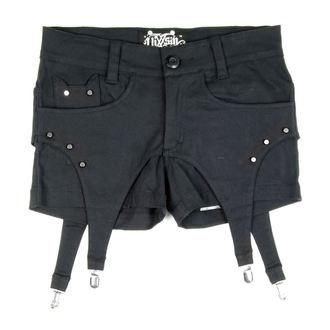 kraťasy dámske VIXXSIN - Suspender - Black, VIXXSIN