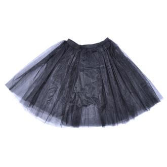 sukňa dámska POIZEN INDUSTRIES - Cor Midi Tutu- Black, POIZEN INDUSTRIES