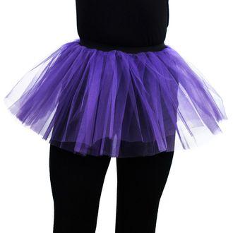 sukňa dámska POIZEN INDUSTRIES - Cor Tutu - Dark Purple, POIZEN INDUSTRIES