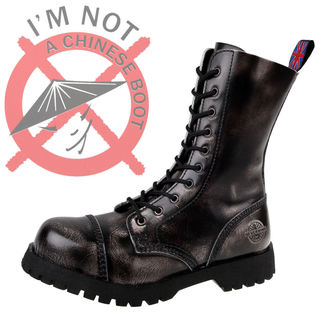 topánky NEVERMIND - 10dírkové - Grey, NEVERMIND