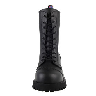 topánky NEVERMIND - 10 dierkové - Vegan - Black Synthetic, NEVERMIND