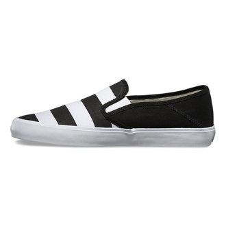 topánky pánske VANS - Slip-On (Stripes) - Black, VANS