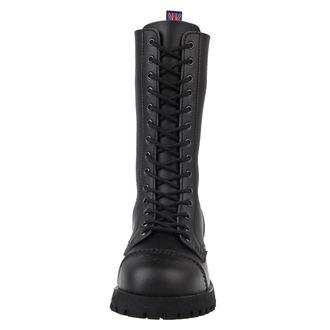 topánky NEVERMIND - 14 dierkové - Vegan - Black Synthetic, NEVERMIND