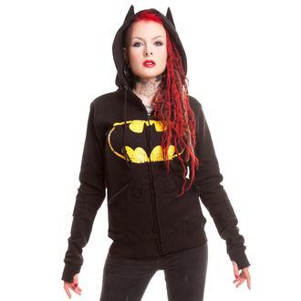 mikina dámska BATMAN - BM Revenge - Batman - Black, POIZEN INDUSTRIES