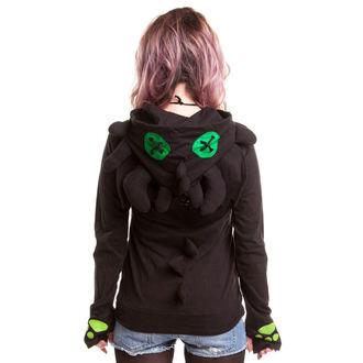 mikina dámska CUPCAKE CULT - Voodoo Dragon - Black, CUPCAKE CULT
