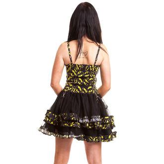 šaty dámske POIZEN INDUSTRIES - Bat Night - Batman - Black, POIZEN INDUSTRIES