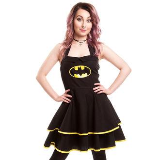 šaty dámske BATMAN - Batman Cape - Black, POIZEN INDUSTRIES