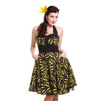 šaty dámske POIZEN INDUSTRIES - Batman Logo - Black, POIZEN INDUSTRIES