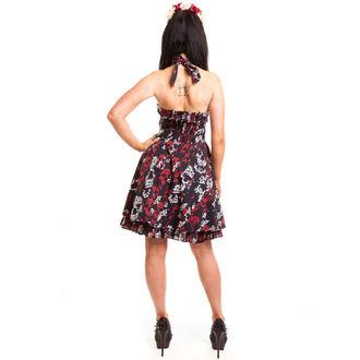 šaty dámske ROCKABELLA - Storm Skull - Black, ROCKABELLA