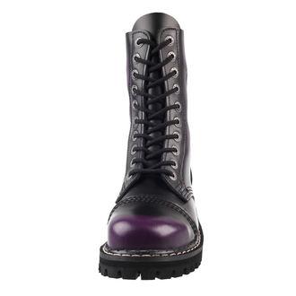 topánky KMM 10dírkové - Deep Purple, KMM
