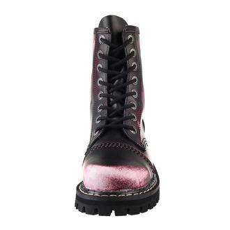 topánky KMM 8 dierkové - Vampire Red, KMM