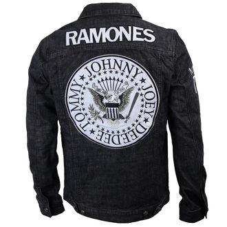 bunda pánska Ramones - Seal - Denim - BRAVADO, BRAVADO, Ramones