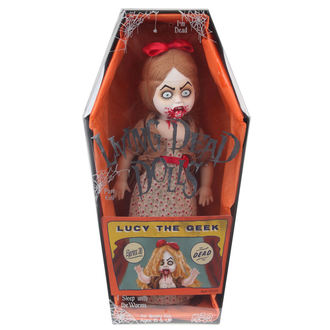 bábika LIVING DEAD DOLLS - Lucy The geek, LIVING DEAD DOLLS