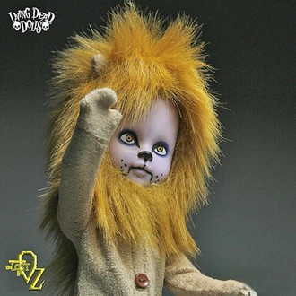 bábika LIVING DEAD DOLLS - Teddy as The Lion, LIVING DEAD DOLLS