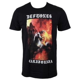 tričko pánske Deftones - California - Black - LIVE NATION, LIVE NATION, Deftones