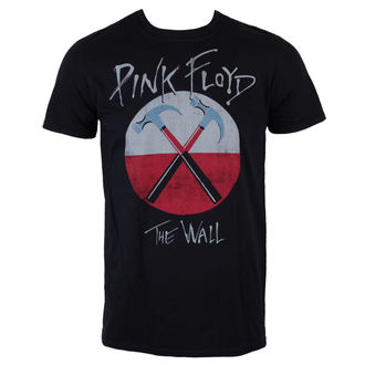 tričko pánske Pink Floyd - The Wall Logo - Black - LIVE NATION, LIVE NATION, Pink Floyd