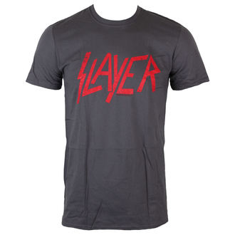 tričko pánske Slayer - Distressed Logo - ROCK OFF, ROCK OFF, Slayer