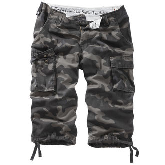 kraťasy 3/4 pánske SURPLUS - TROOPER LEGEND - BLACK CAMO, SURPLUS